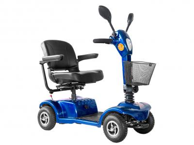 Daymak 250W , 24V Mobility Scooter in Blue - Boomerbuggy IV (Bl)