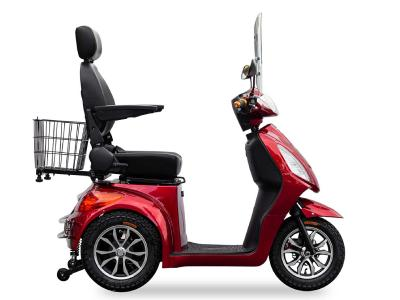 Daymak Rickshaw Mobility Scooter With MP3/Radio In Red - Rickshaw (R)
