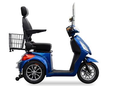 Daymak Rickshaw Mobility Scooter With MP3/Radio In Blue - Rickshaw (BL)