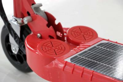 Daymak Electirc Kick Scooter With Solar Panel In Red - Photon (R)