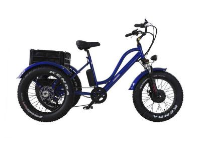 Daymak 500W Florence Fat Tire Ebike in Blue - Florence Fat Tire (Bl)