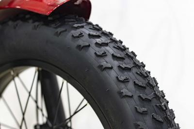 Daymak 500W Florence Fat Tire Ebike in Red -Florence Fat Tire (R)