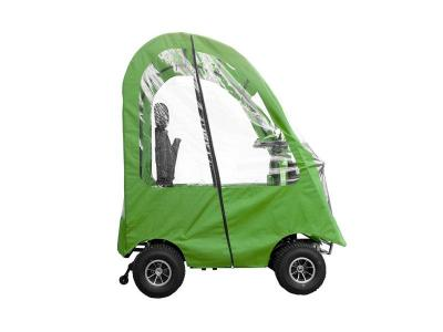 Daymak 800W , 24V Mobility Scooter in Green - Boomerbuggy 5 Canopy (G)