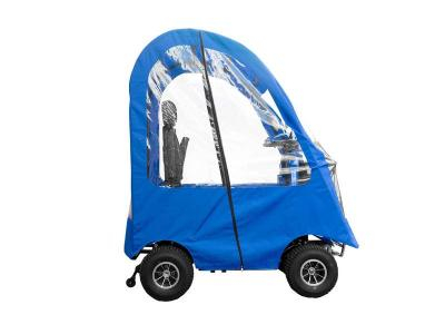 Daymak 800W , 24V Mobility Scooter in Blue - Boomerbuggy 5 Canopy (Bl)