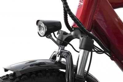 Daymak 350W , 48V Electric Bicycle in Red - Easy Rider (R)