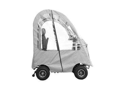 Daymak 800W , 24V Mobility Scooter in White - Boomerbuggy 5 Canopy (W)