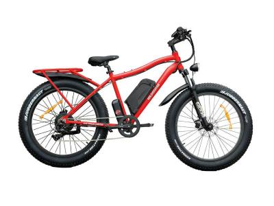Daymak 500W , 48V Offroad Ebike in Red - Wild Goose (R)