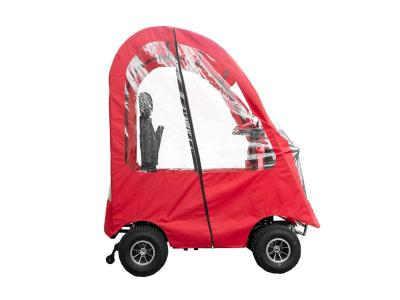 Daymak 800W , 24V Mobility Scooter in Red - Boomerbuggy 5 Canopy (R)