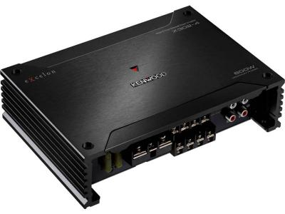 Kenwood Class D Mono 4-Channel Power Amplifier - X3024