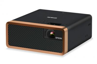 Epson EF-100 Mini Laser Streaming Projector with Android TV in Black - V11H914320