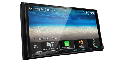 Kenwood Digital Multimedia Receiver With Capacitive Touch Panel - DMX907S