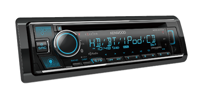 Kenwood CD Receiver With Bluetooth And HD Radio - KDCX704