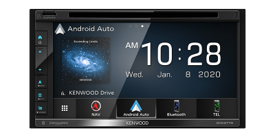 Kenwood Navigation DVD Receiver With Bluetooth And High Resolution Audio - DNX577S