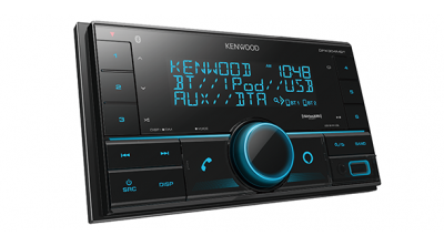Kenwood 2-Din Digital Media receiver With Bluetooth - DPX304MBT