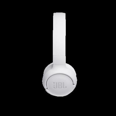JBL TUNE 500BT Wireless On-Ear Headphones In White - JBLT500BTWHTAM