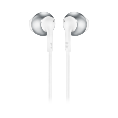 JBL TUNE 205BT Wireless Earbud Headphones In Silver - JBLT205BTSILAM