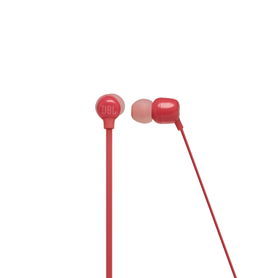 JBL TUNE 115BT Wireless In-Ear Headphones In Coral Orange - JBLT115BTCORAM