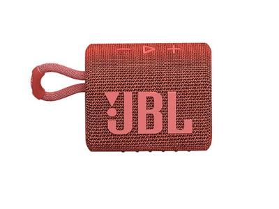 JBL Go 3 Portable Bluetooth Speaker in Red - JBLGO3REDAM