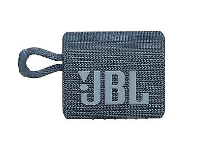 JBL Go 3 Portable Bluetooth Speaker in Blue - JBLGO3BLUAM
