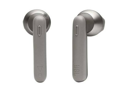 JBL Tune 225 True Wireless Earbud Bluetooth Headphones in Grey - JBLT225TWSGRYAM