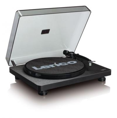 Lenco Turntable With Auto-stop And Pc Encoding - L-30 (B)
