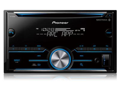 Pioneer Double DIN CD Receiver with Improved Pioneer ARC App Compatibility-FH-S501BT