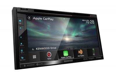 """6.8"""" Kenwood Navigation DVD Receiver with Bluetooth & HD Radio - DNX696S"""