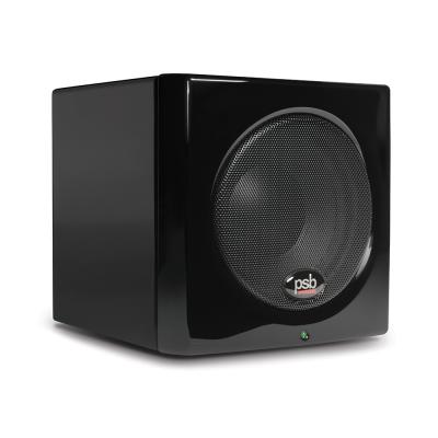 PSB Speakers Ultra-Compact Powered Subwoofer for Desktop Systems - SUBSERIES 100