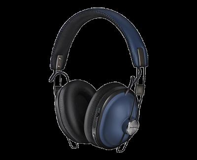 Panasonic Noise-Free Bluetooth Headphones In Blue - RPHTX90A