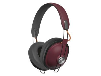Panasonic Over The Ear Wireless Headphones With Bluetooth In Red - RPHTX80R