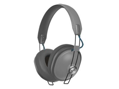 Panasonic Over The Ear Wireless Headphones With Bluetooth In Grey - RPHTX80H