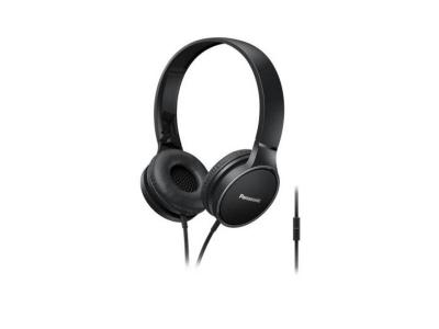 Panasonic On-Ear Headphones in Black - RPHF300MK