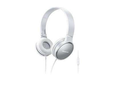 Panasonic On-Ear Headphones in White - RPHF300MW