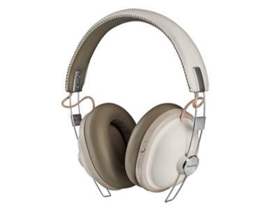 Panasonic Noise-Free Bluetooth Headphones In White - RPHTX90W