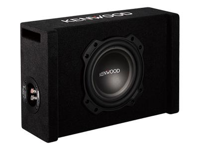 "Kenwood 8"" Oversized Subwoofer in Ported Enclosure PW804B"