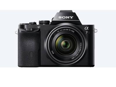 SONY α7 E-Mount Camera  With Full Frame Sensor - ILCE7KB