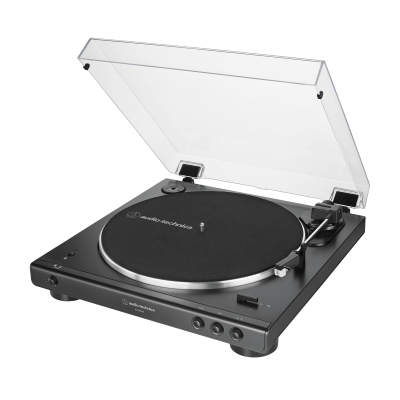Audio Technica Fully Automatic Wireless Belt-Drive Turntable - AT-LP60XBT-BK