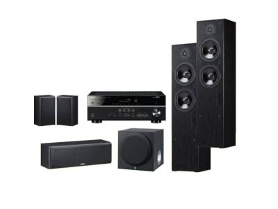 Yamaha 5.1 Channel AV Receiver with Speakers Home Theatre Package - YHTB4850