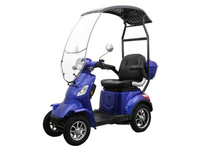 Daymak Roof Mobility Scooter With Built In Backup Camera In Blue - Roadstar 4 Wheel (Bl)