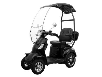 Daymak Roof Mobility Scooter With Built In Backup Camera In Black - Roadstar 4 Wheel (B)