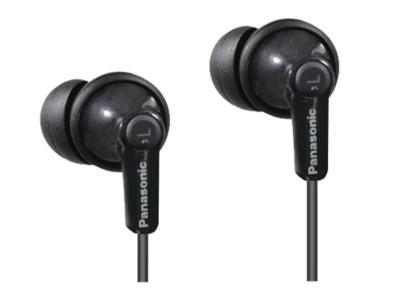 Panasonic ErgoFit In-Ear Earbud Headphones - RPHJE120 (B)
