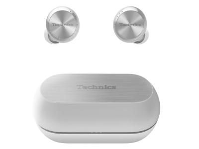 Technics True Wireless Noise Cancelling Headphones In Silver - EAH-AZ70W (S)