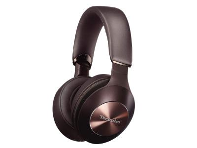 Technics Wireless Noise Cancelling Stereo Headphones In Brown - EAH-F70N (Br)