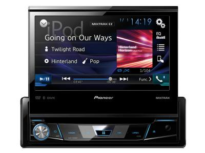 "Pioneer 1-DIN DVD Receiver with 7"" Flip-out Display, Bluetooth® AVH-X7800BT"