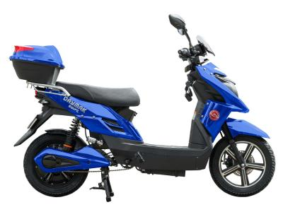 Daymak EBike With LED Back Lit Display In Blue - Swift (Bl)