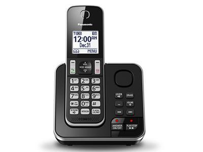 Panasonic Digital Cordless Answering System - KXTGD390B