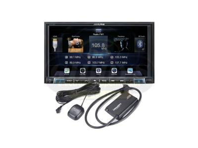 Alpine Digital Media Receiver includes Sirius XM SXV300V1C Connect Vehicle Tuner - ILX-207SXMC