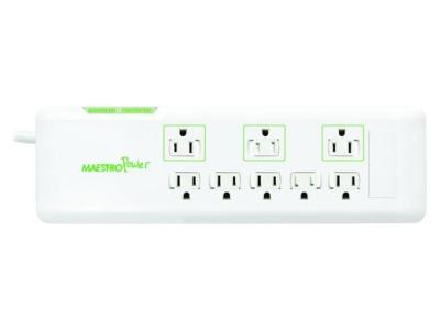 Maestro MPB Series Slim Power Bar With 8 Outlets - MPB8