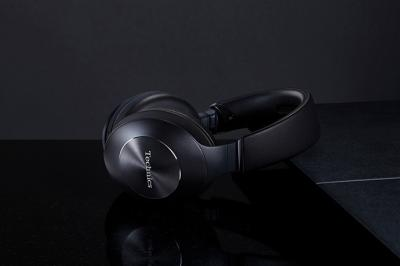 Technics Wireless Noise Cancelling Stereo Headphones In Black - EAH-F70N (B)