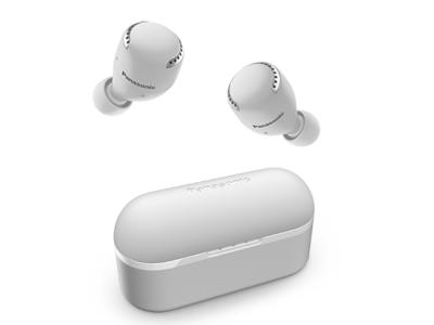 Panasonic True Wireless Noise Cancelling Headphones In White - RZS500WW